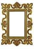 ανασκόπησης vectorial λευκό εικόνων φωτογραφιών απεικόνισης πλαισίων χρυσό Στοκ Εικόνες