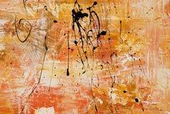 ανασκόπηση έργου τέχνης Στοκ Εικόνες