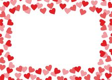 Ανασκόπηση αγάπης Στοκ Εικόνα