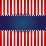 Ανασκόπηση αμερικανικών σημαιών Στοκ Φωτογραφίες