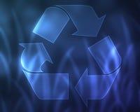 ανασκόπηση ανακύκλωσης Στοκ Εικόνα