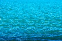 Ανασκόπηση από το θαλάσσιο νερό Στοκ Εικόνες