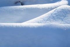 Ανασκόπηση από το χιόνι Στοκ φωτογραφίες με δικαίωμα ελεύθερης χρήσης