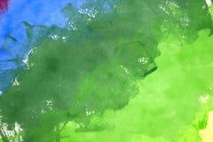 ανασκόπηση γαλαζοπράσιν&eta Στοκ Εικόνες