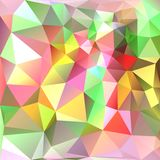 ανασκόπηση γεωμετρική Πολύχρωμα τρίγωνα Στοκ Εικόνες