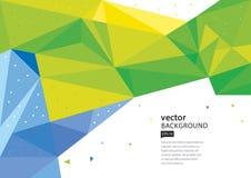 ανασκόπηση γεωμετρική Στοκ εικόνες με δικαίωμα ελεύθερης χρήσης