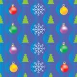 Ανασκόπηση για το τυλίγοντας έγγραφο Χριστουγέννων Στοκ Εικόνα
