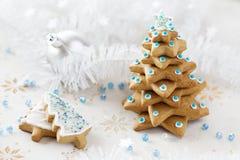 Ανασκόπηση δέντρων του FIR Χριστουγέννων Στοκ Εικόνα
