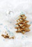 Ανασκόπηση δέντρων του FIR Χριστουγέννων Στοκ εικόνα με δικαίωμα ελεύθερης χρήσης