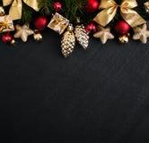 Ανασκόπηση διακοπών Χριστουγέννων στοκ εικόνες