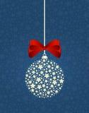 Ανασκόπηση διακοσμήσεων Χριστουγέννων Ελεύθερη απεικόνιση δικαιώματος