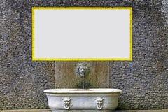 ανασκόπηση διαφημίσεων Στοκ εικόνα με δικαίωμα ελεύθερης χρήσης