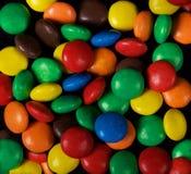 ανασκόπηση ζωηρόχρωμη Καραμέλα ανασκόπηση πολύχρωμη χρώματα ζωηρόχρωμα γλυκά Γλυκό υπόβαθρο τροφίμων έρημος Στοκ Φωτογραφίες