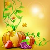 Ανασκόπηση ημέρας των ευχαριστιών. EPS 10. απεικόνιση αποθεμάτων