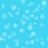 Ανασκόπηση διακοπών Χριστουγέννων με snowflakes κάλυψη παγωμένη διανυσματικός χειμώνας προτύπων Στοκ φωτογραφίες με δικαίωμα ελεύθερης χρήσης