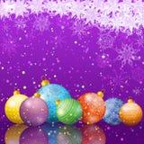 Ανασκόπηση διακοπών Χριστουγέννων Στοκ εικόνες με δικαίωμα ελεύθερης χρήσης