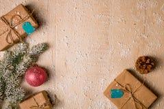 Ανασκόπηση διακοσμήσεων Χριστουγέννων Στοκ φωτογραφίες με δικαίωμα ελεύθερης χρήσης