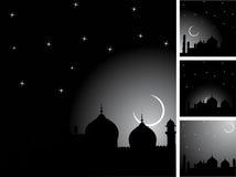 ανασκόπηση ισλαμική διανυσματική απεικόνιση