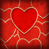 Ανασκόπηση καρδιών Στοκ εικόνα με δικαίωμα ελεύθερης χρήσης