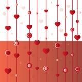 Ανασκόπηση καρδιών Στοκ φωτογραφία με δικαίωμα ελεύθερης χρήσης