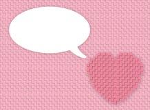 Ανασκόπηση καρδιών Στοκ Εικόνες