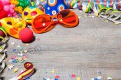 ανασκόπηση καρναβάλι ζωηρ Στοκ Εικόνες