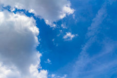 1 ανασκόπηση καλύπτει το νεφελώδη ουρανό Στοκ εικόνες με δικαίωμα ελεύθερης χρήσης