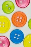 Ανασκόπηση κουμπιών Στοκ Φωτογραφίες