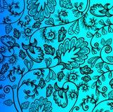 Ανασκόπηση λουλουδιών Διανυσματική απεικόνιση