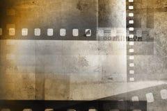 Ανασκόπηση λουρίδων ταινιών στοκ εικόνα