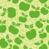 ανασκόπηση μήλων άνευ ραφής Στοκ φωτογραφία με δικαίωμα ελεύθερης χρήσης