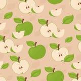ανασκόπηση μήλων άνευ ραφής Στοκ εικόνες με δικαίωμα ελεύθερης χρήσης