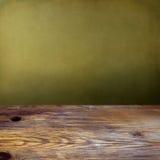 Ανασκόπηση με ξύλινο tabletop Στοκ Εικόνες