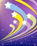 Ανασκόπηση με τα αστέρια Στοκ εικόνα με δικαίωμα ελεύθερης χρήσης