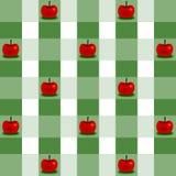 Ανασκόπηση με τα μήλα Στοκ φωτογραφία με δικαίωμα ελεύθερης χρήσης