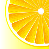 Ανασκόπηση με τα πορτοκάλια Στοκ εικόνα με δικαίωμα ελεύθερης χρήσης