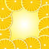 Ανασκόπηση με τα πορτοκάλια Στοκ φωτογραφία με δικαίωμα ελεύθερης χρήσης