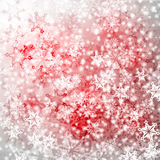 Ανασκόπηση με Snowflakes Στοκ Εικόνες