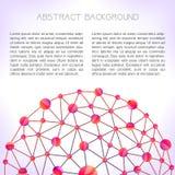 Ανασκόπηση μορίων Στοκ Εικόνες
