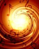 Ανασκόπηση μουσικής Στοκ εικόνα με δικαίωμα ελεύθερης χρήσης