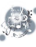 ανασκόπηση μουσική Στοκ εικόνες με δικαίωμα ελεύθερης χρήσης