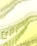 ανασκόπηση μουσική Στοκ Φωτογραφία