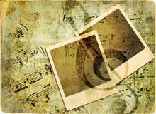 ανασκόπηση μουσική Στοκ φωτογραφία με δικαίωμα ελεύθερης χρήσης