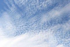 Ανασκόπηση μπλε ουρανού Στοκ Φωτογραφία