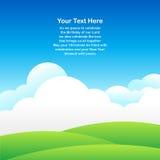 Ανασκόπηση μπλε ουρανού Στοκ εικόνες με δικαίωμα ελεύθερης χρήσης