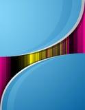 ανασκόπηση μπλε eps10 ομαλή Διανυσματική απεικόνιση