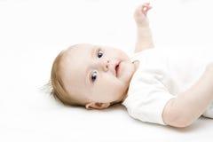 ανασκόπηση μωρών λίγα άσπρα στοκ εικόνες