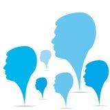 Ανασκόπηση ομάδων επιχειρηματιών ελεύθερη απεικόνιση δικαιώματος