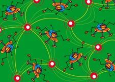 ανασκόπηση ο κ. pattern space Στοκ εικόνες με δικαίωμα ελεύθερης χρήσης
