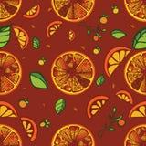 Ανασκόπηση πορτοκαλιών Στοκ Φωτογραφία